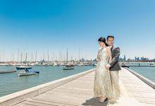Melbourne prewedding of Andreas & Christine by Klik Studio