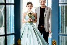 Jessica & Steven Prewedding by iLook ( Makeup & Couture )