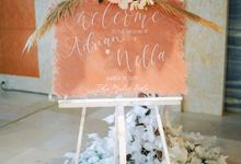 The Mulia Bali - Adrian & Nella by Atelier Plum