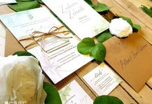 'Green Fairy Garden' Invitation by PurityCard