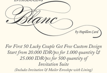 Blanc Label by Papillon Card by Papillon Card