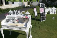 Angpao table piano style.. by W Floral Design (wedding & event decoration) in Bali