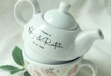 Tekosusun Aladin Wedding H & R by Mug-App Wedding Souvenir