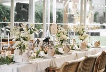 The Wedding of Henry and Stefanie by Elior Design