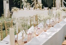 The Wedding of Christian and Ira by Elior Design