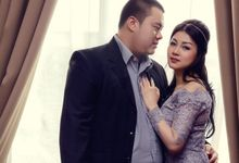 Febby & Yuddy engagement day by Sara Lian