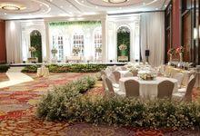 International Decorations by I Fiori Decorations by IKK Wedding Venue