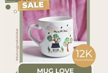 FLASH SALE MUG LOVE SOUVENIR WEDDING by Mug-App Wedding Souvenir