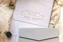 The Wedding of Irwan & Loria by SentimeterCard