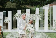 The Modern and Elegant Wedding Ceremony of Monica and Allen by Elior Design