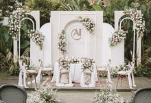 The Wedding of Asri & Ikhwan by Elior Design