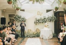 The Wedding of Darius and Verliana by Elior Design