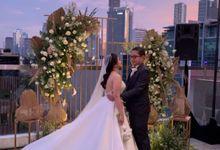MC Wedding Intimate Wedding at Morrissey hotel Jakarta - Anthony Stevven by Anthony Stevven