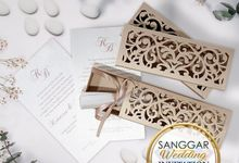 RYVERA & BEN (Beige Roll Ornament Luxury) by Sanggar Undangan