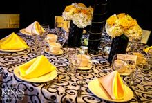 Sample Table Centerpiece Set up by Ocean Sky Hotel & Resort