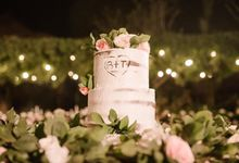 The Wedding Cake Of Brooke & Tyson by Moia Cake