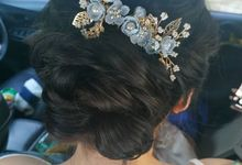 Updo by Ehrstylist
