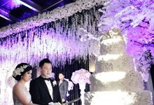 White Allure Wedding by Fuchsia Decoration