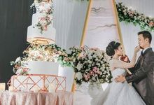 Wedding Cake - Real Wedding by RR CAKES