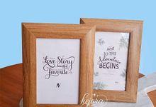 Frame 4R Corak Kayu by Kejora Gift & Souvenir
