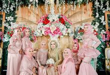 The wedding Of Endah X Ade by Potret Photo