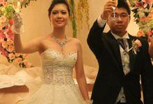 Shangrila Hotel - Alwin & Lusi Wedding Reception by Jova Musique