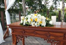 Ceremony Set Up Balinese Touch by Million Rose Event Bali
