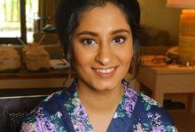 India Bridesmaid  by sunday_debalimakeup