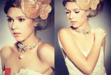 Make Up for Le Mariage Magazine Beauty Pages by Marsia Yulia Signature. Natural and Korean Make Up Specialist.