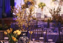Chinoiserie Wedding by Pea and Pie