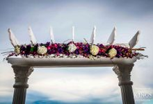 Outdoor Wedding Set up by Ocean Sky Hotel & Resort