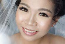 Bride ~ Chistine Natalia by valentinemakeupart
