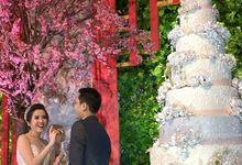 Alvianto & Yuliana by Evergreen Cake Boutique