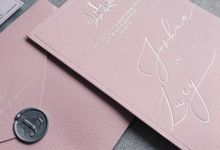 Dusty Pink by Trouvaille Invitation