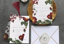 Vellum Invitation & Tassel by Ello Props