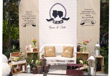 Rustic Romance by Orchid Florist and Decoration