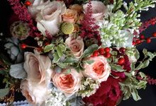Wedding Bouquet by Jasmine Florist