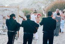 Laura & Cody Wedding Mexico by White Ash Photography