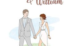 WED Einitar & Willeam by phuketselfieprint