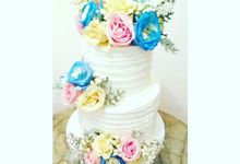 The Wedding Cake Of Lyta & Angga by Moia Cake