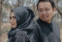 Prewedding Lanang Satio + Ana Fauziah by senamastudio