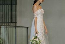 Queen Annelace Wedding Dress by Carmel Studio
