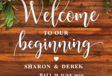 Sharon & Derek 28.06.2019 by Oma Thia's Kitchen Catering