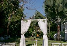 Garden Wedding by Bali Event Hire