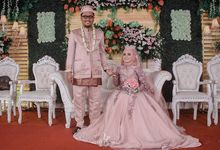 Wedding Nurul + Suami by Azkia Project