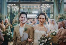 Wedding of Cynthia & Yoni by Kaara Bride by Mutiara Meddyan