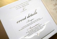 Elizabeth & Adilson by Vinas Invitation
