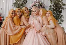 Wedding Lanang Satio + Ana Fauziah by senamastudio