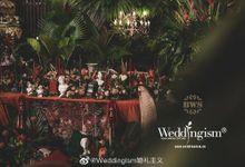 St. Regis Indoor Wedding Decoration by Bali Wedding Service