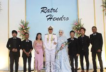 The Wedding of Ratri & Hendro by Nine Entertainment